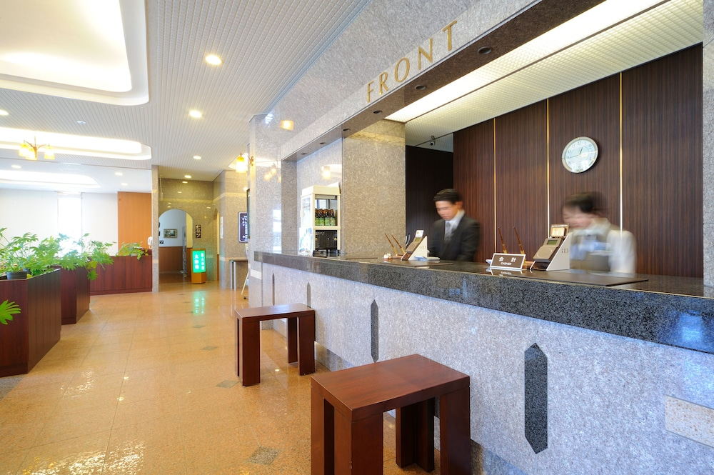 루트-인 그란티아 시레토코 샤리키메(Route-Inn Grantia Shiretoko Shariekimae) Hotel Image 6 - Reception