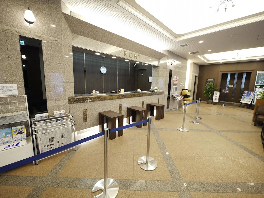 호텔 루트-인 치토세 에키마에(Hotel Route-Inn Chitose Ekimae) Hotel Image 2 - Reception