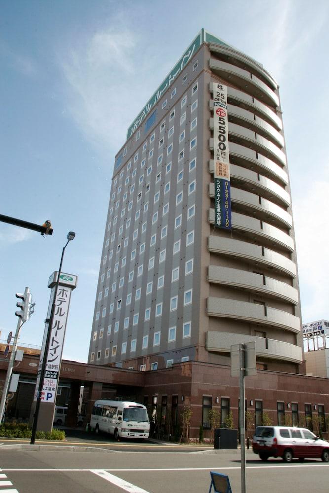 호텔 루트-인 치토세 에키마에(Hotel Route-Inn Chitose Ekimae) Hotel Image 17 - Exterior