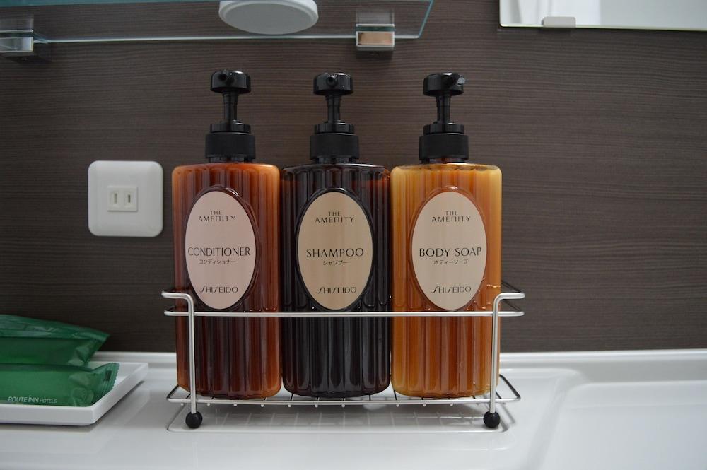 호텔 루트-인 아사히카와 에키마에 이치조도리(Hotel Route-Inn Asahikawa Ekimae Ichijodori) Hotel Image 16 - Bathroom Amenities