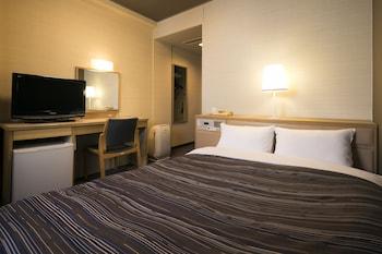 セミダブルルーム 禁煙|13㎡|アークホテル岡山 –ルートインホテルズ–