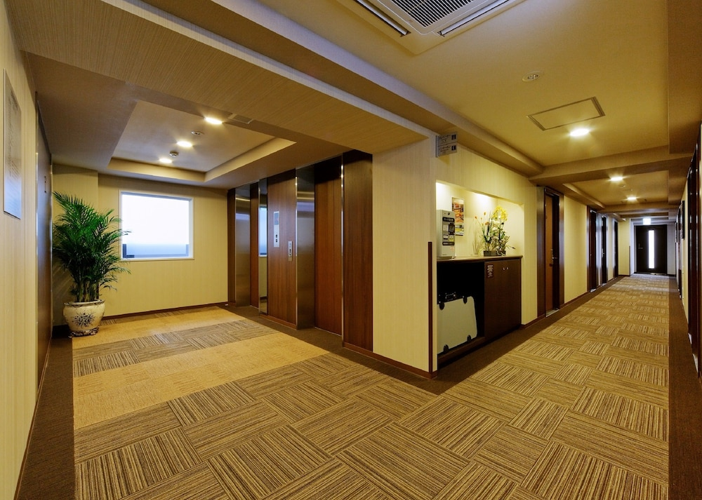 호텔 루트-인 나고야 이마이케 에키마에(Hotel Route-Inn Nagoya Imaike Ekimae) Hotel Image 21 - Hallway