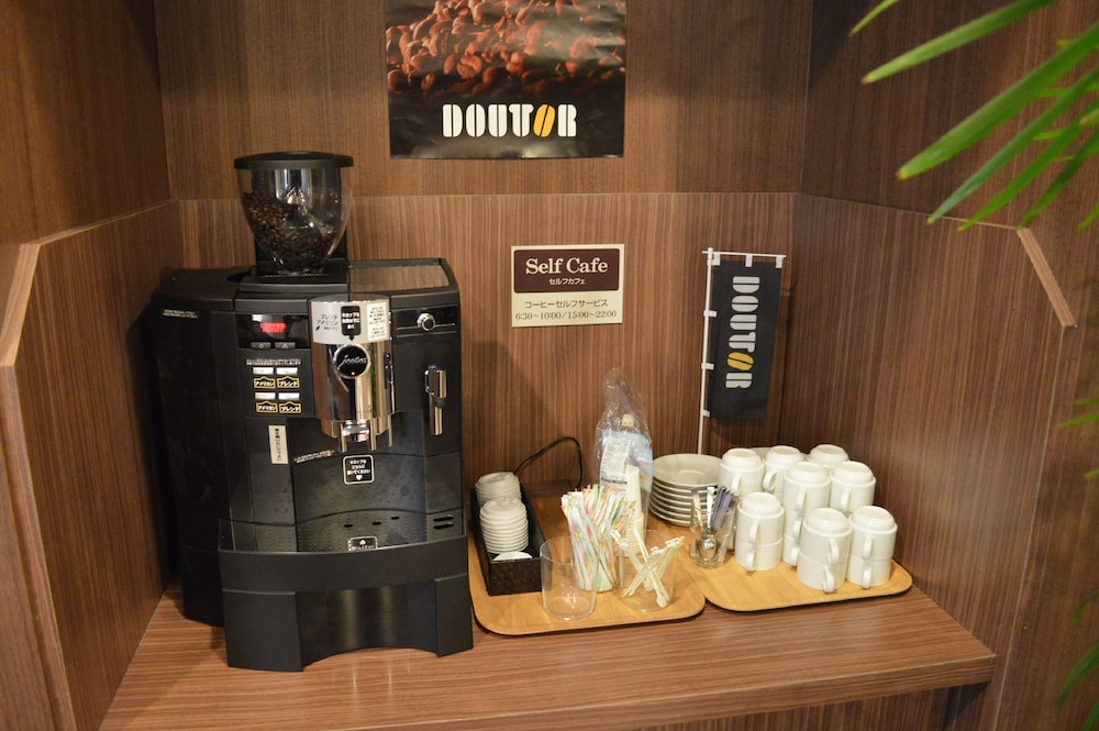 호텔 루트-인 나고야 이마이케 에키마에(Hotel Route-Inn Nagoya Imaike Ekimae) Hotel Image 17 - Coffee Service
