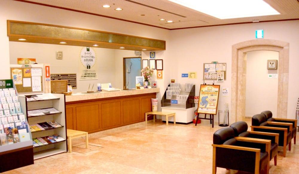 호텔 루트-인 마츠에(Hotel Route-Inn Matsue) Hotel Image 2 - Reception