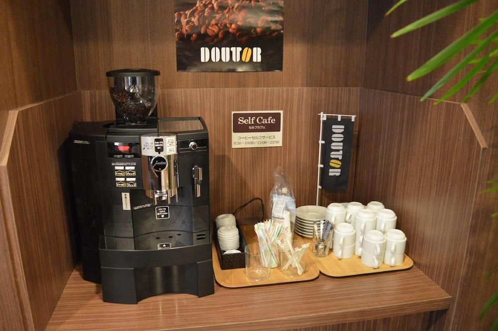 루트-인 그란티아 아키타 스파 리조트(Route-Inn Grantia Akita Spa Resort) Hotel Image 23 - Coffee Service