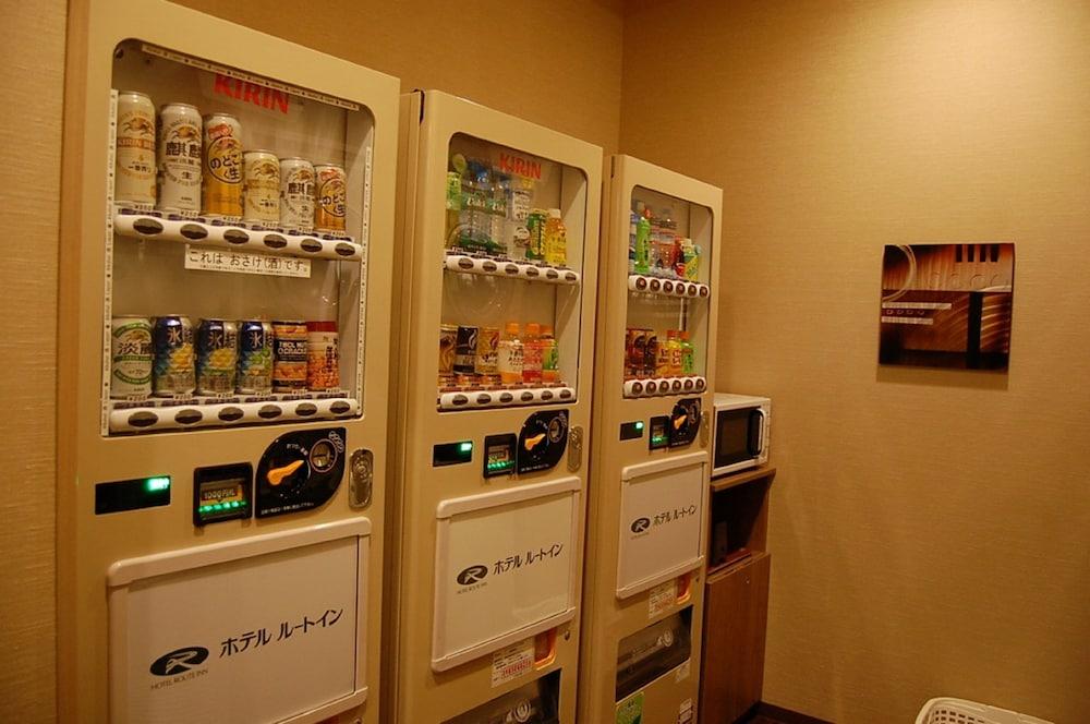 루트-인 그란티아 아키타 스파 리조트(Route-Inn Grantia Akita Spa Resort) Hotel Image 22 - Vending Machine