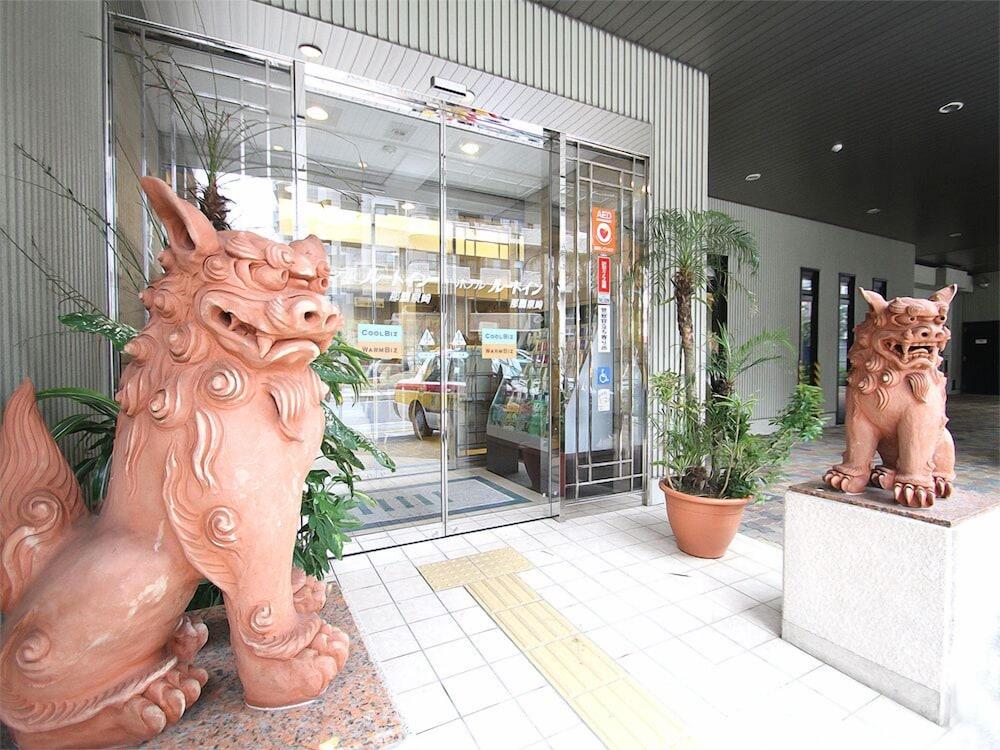 호텔 루트-인 나하 아사히바시 에키 히가시(Hotel Route-Inn Naha Asahibashi Eki Higashi) Hotel Image 37 - Hotel Entrance