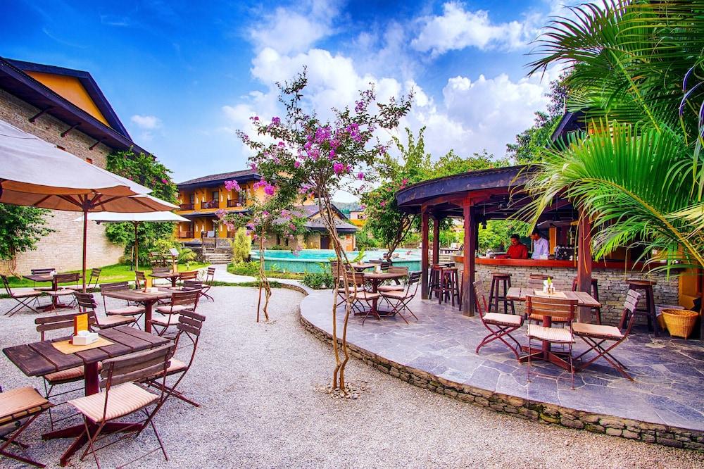 템플 트리 리조트 & 스파(Temple Tree Resort & SPA) Hotel Image 54 - Outdoor Banquet Area
