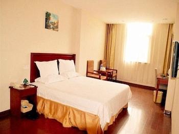 그린트리 인 후아이난 사우스 피플 로드 호텔(GreenTree Inn Huainan South People Road Hotel) Hotel Image 5 - Guestroom