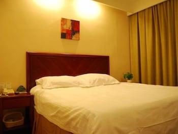 그린트리 인 후아이난 사우스 피플 로드 호텔(GreenTree Inn Huainan South People Road Hotel) Hotel Image 2 - Guestroom