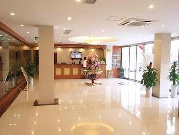 그린트리 인 후아이난 사우스 피플 로드 호텔(GreenTree Inn Huainan South People Road Hotel) Hotel Image 0 - Lobby
