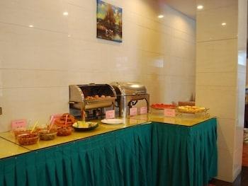그린트리 인 후아이난 사우스 피플 로드 호텔(GreenTree Inn Huainan South People Road Hotel) Hotel Image 10 - Breakfast Area