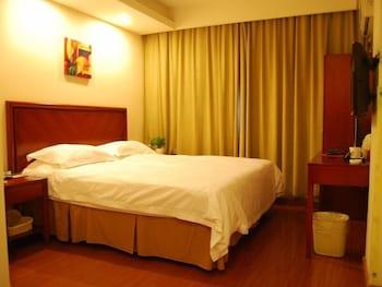 그린트리 인 후아이난 사우스 피플 로드 호텔(GreenTree Inn Huainan South People Road Hotel) Hotel Image 3 - Guestroom