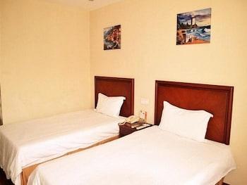 그린트리 인 후아이난 사우스 피플 로드 호텔(GreenTree Inn Huainan South People Road Hotel) Hotel Image 4 - Guestroom