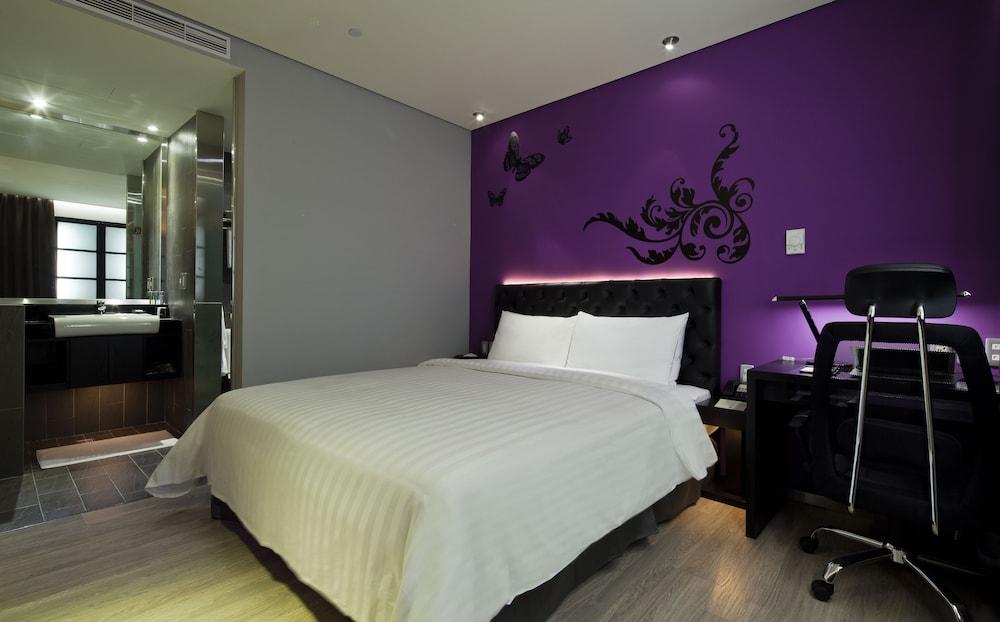 FX 호텔 타이베이 난징 이스트 로드 브랜치(FX Hotel Taipei Nanjing East Road Branch) Hotel Image 8 - Guestroom