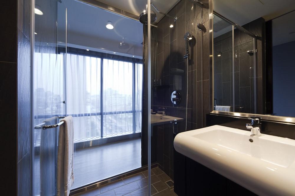 FX 호텔 타이베이 난징 이스트 로드 브랜치(FX Hotel Taipei Nanjing East Road Branch) Hotel Image 29 - Bathroom
