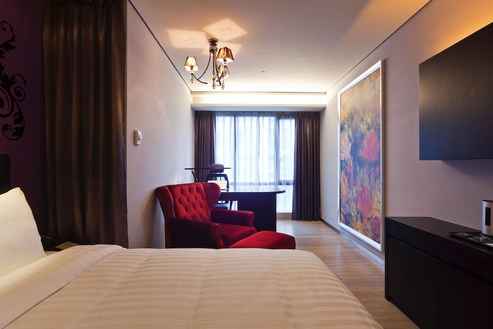 FX 호텔 타이베이 난징 이스트 로드 브랜치(FX Hotel Taipei Nanjing East Road Branch) Hotel Image 7 - Guestroom