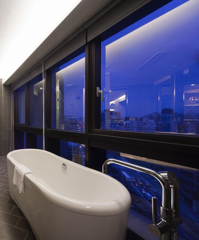 FX 호텔 타이베이 난징 이스트 로드 브랜치(FX Hotel Taipei Nanjing East Road Branch) Hotel Image 31 - Bathroom
