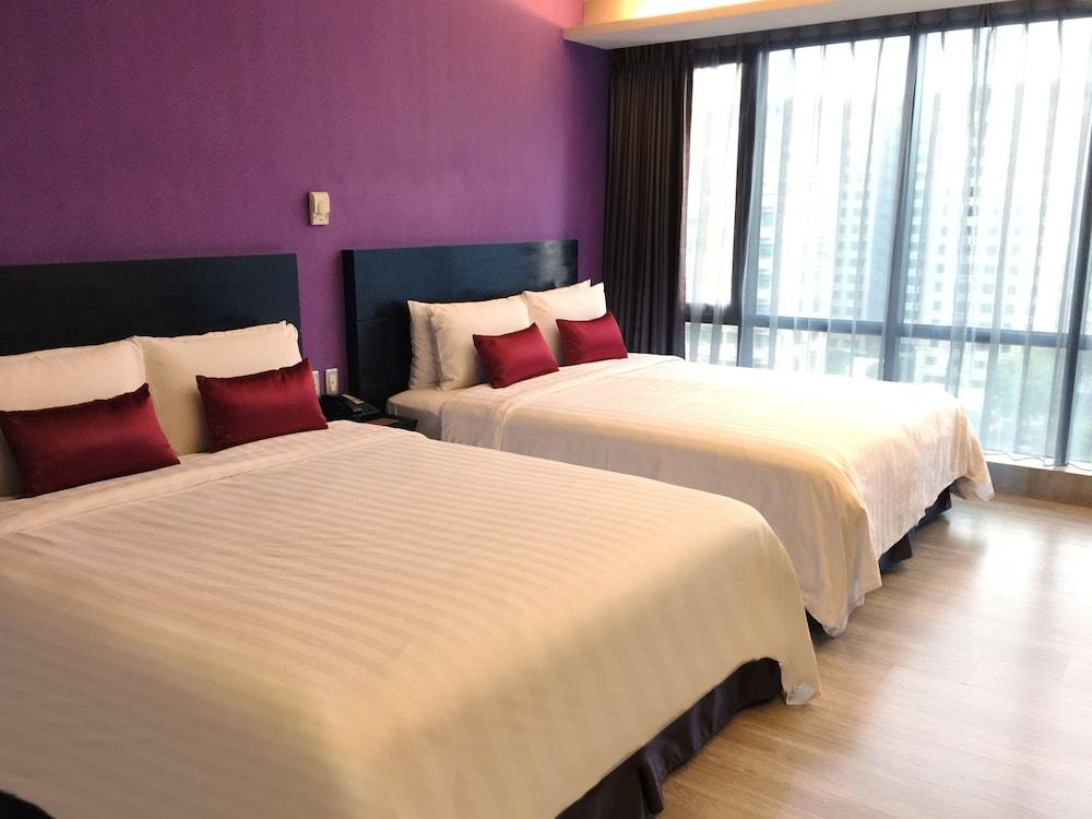 FX 호텔 타이베이 난징 이스트 로드 브랜치(FX Hotel Taipei Nanjing East Road Branch) Hotel Image 23 - Guestroom