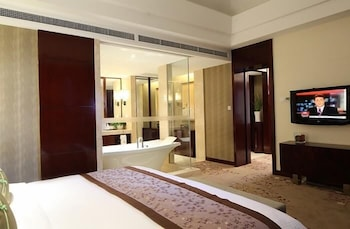 그랜드 스카이라이트 CIMC 호텔 양저우(Grand Skylight CIMC Hotel Yangzhou) Hotel Image 15 - Guestroom