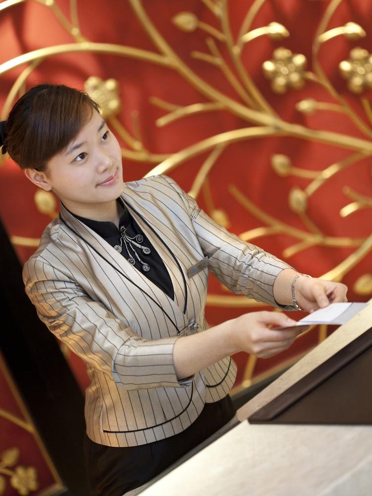 그랜드 스카이라이트 CIMC 호텔 양저우(Grand Skylight CIMC Hotel Yangzhou) Hotel Image 18 - Reception