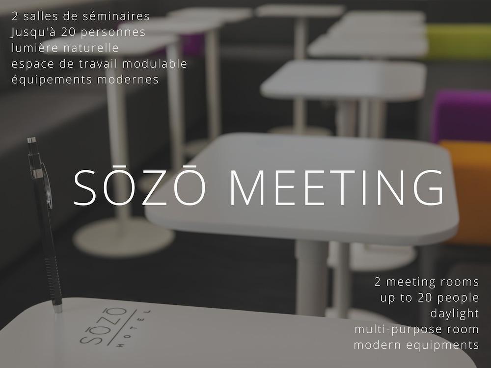 소조 호텔(Sozo Hotel) Hotel Image 40 - Meeting Facility