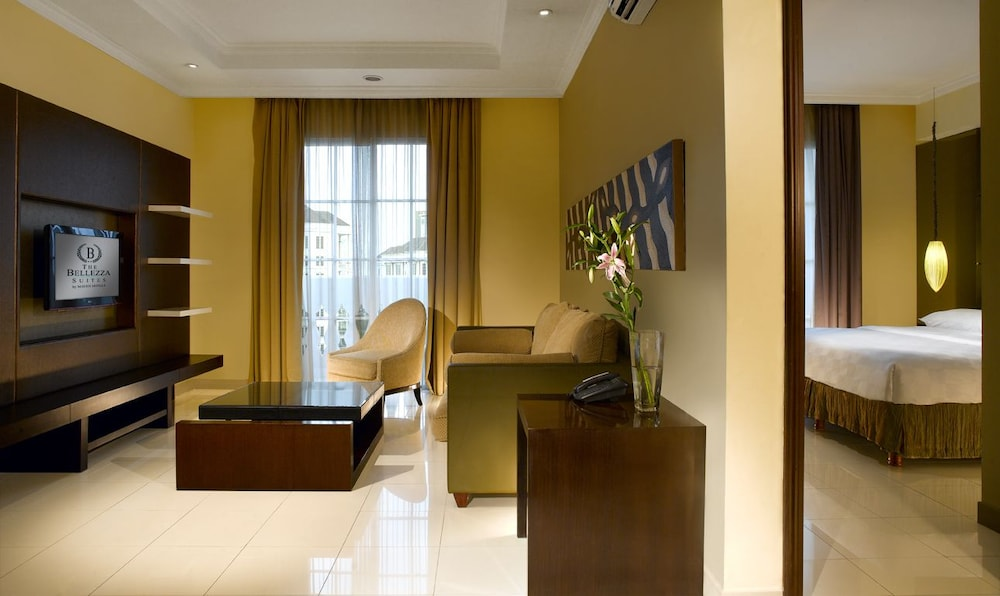 벨레자 스위트 자카르타(The Bellezza Suites Jakarta) Hotel Image 27 - Living Room