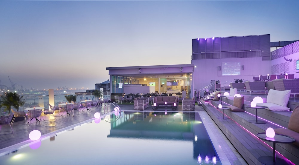 더 캔버스 호텔 두바이 엠갤러리 바이 소피텔(The Canvas Hotel Dubai MGallery By Sofitel) Hotel Image 20 - Terrace/Patio
