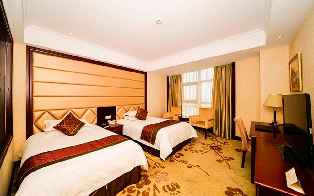 상하이 샤하이 인터내셔널 호텔(Shanghai Shahai International Hotel) Hotel Image 8 - Guestroom