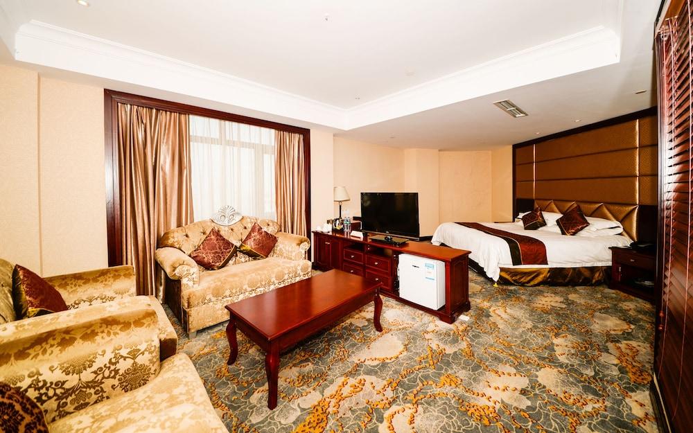 상하이 샤하이 인터내셔널 호텔(Shanghai Shahai International Hotel) Hotel Image 7 - Guestroom