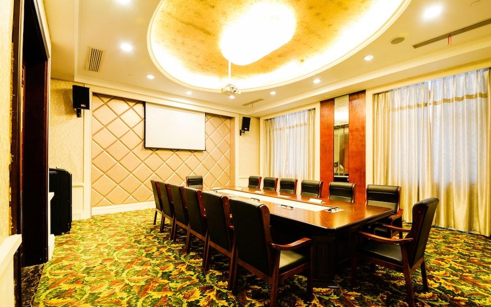 상하이 샤하이 인터내셔널 호텔(Shanghai Shahai International Hotel) Hotel Image 21 - Meeting Facility