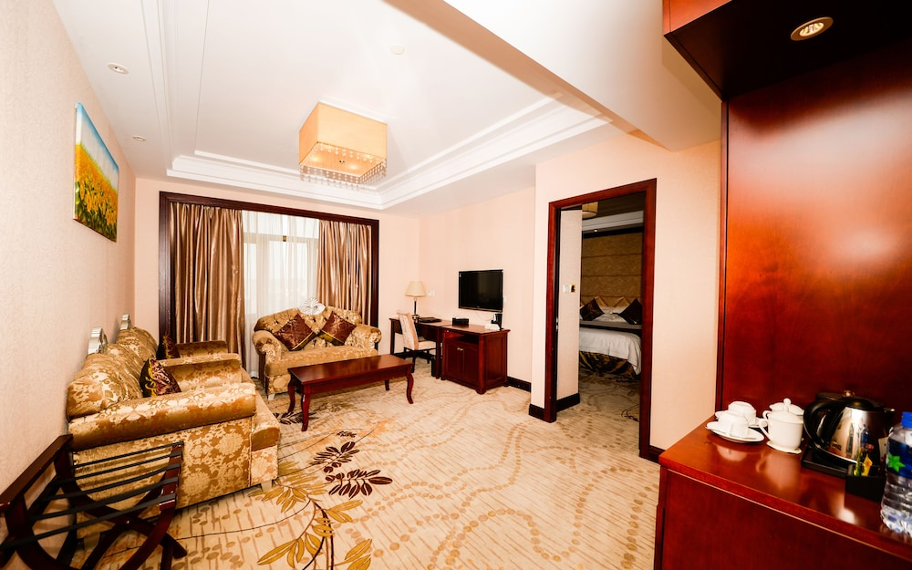 상하이 샤하이 인터내셔널 호텔(Shanghai Shahai International Hotel) Hotel Image 10 - Living Area