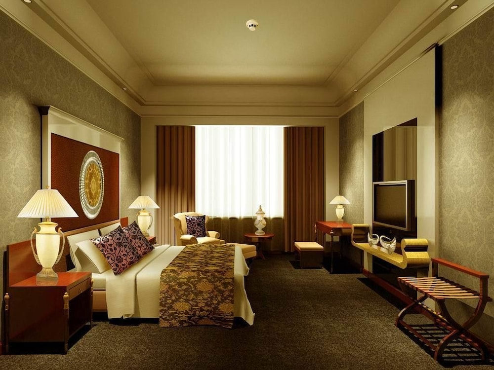 상하이 샤하이 인터내셔널 호텔(Shanghai Shahai International Hotel) Hotel Image 3 - Guestroom