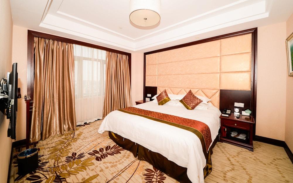 상하이 샤하이 인터내셔널 호텔(Shanghai Shahai International Hotel) Hotel Image 9 - Guestroom