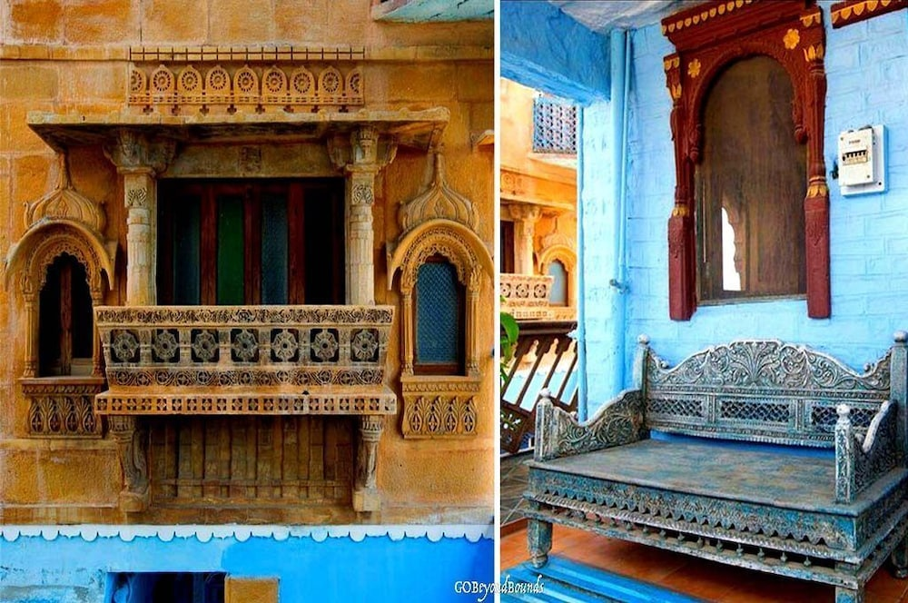 블루 하우스, 올디스트 게스트 하우스(The Blue House, Oldest Guest House) Hotel Image 47 - Interior Detail