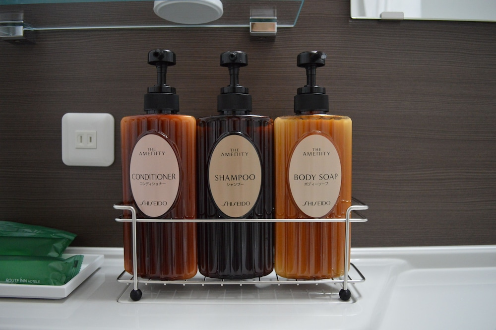 호텔 루트-인 쿠시로 에키마에(Hotel Route-Inn Kushiro Ekimae) Hotel Image 19 - Bathroom Amenities