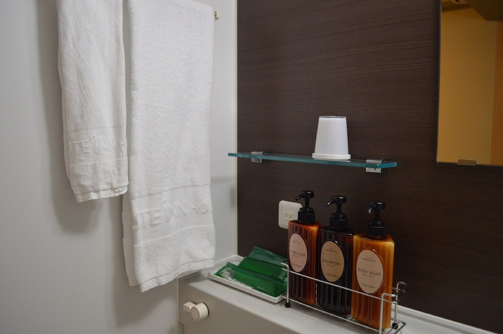 호텔 루트-인 쿠시로 에키마에(Hotel Route-Inn Kushiro Ekimae) Hotel Image 22 - Bathroom Amenities