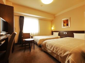 ツインルームシングルサイズベッド 2 台喫煙可|ホテルルートイン渋川