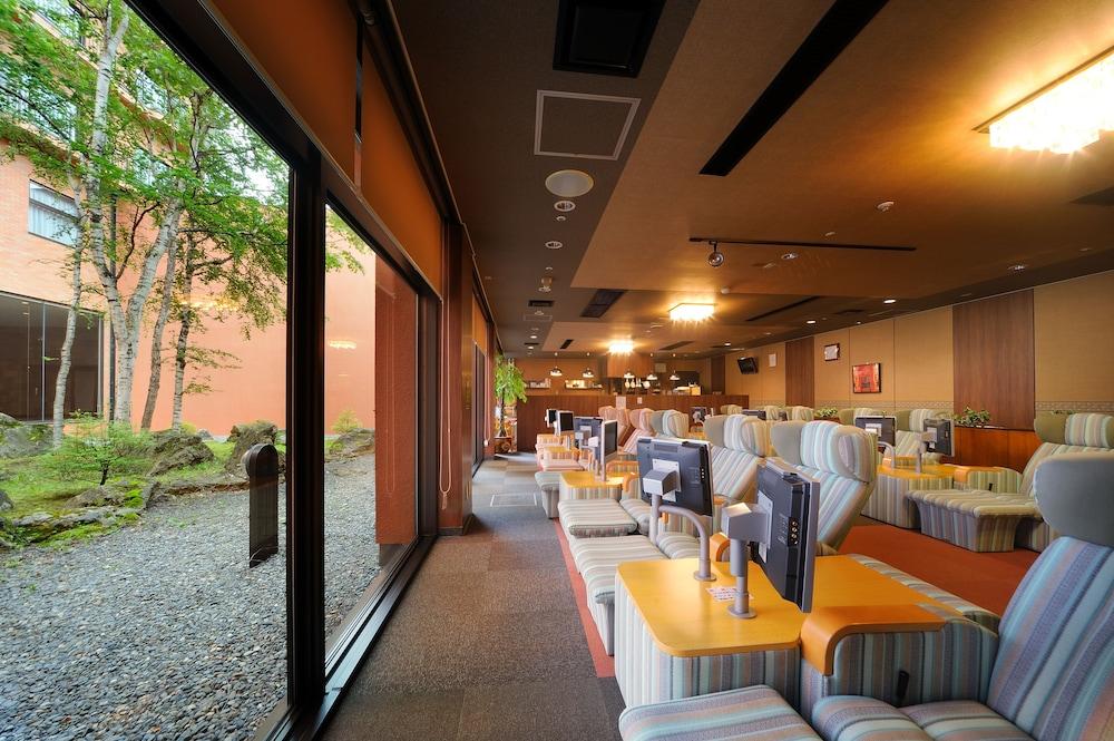 도카치-마쿠베츠 그랜드브리오 호텔 - 루트-인 호텔 -(Tokachi-Makubetsu Grandvrio Hotel - ROUTE-INN HOTELS -) Hotel Image 47 - Hotel Lounge