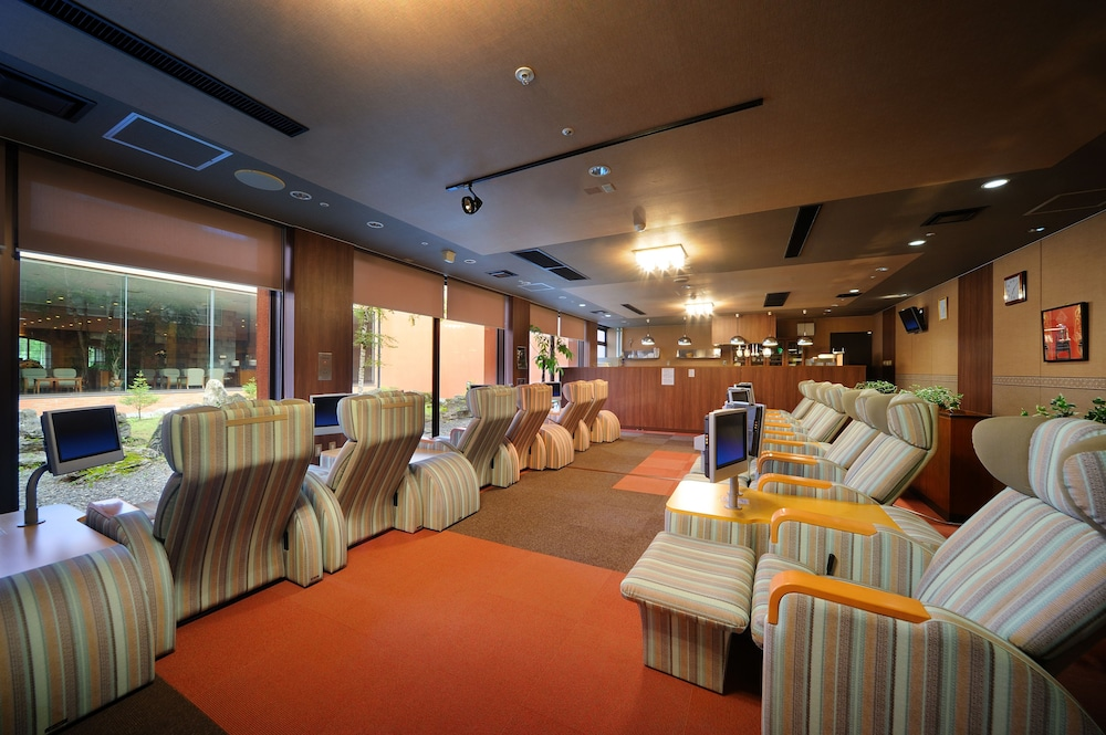 도카치-마쿠베츠 그랜드브리오 호텔 - 루트-인 호텔 -(Tokachi-Makubetsu Grandvrio Hotel - ROUTE-INN HOTELS -) Hotel Image 46 - Hotel Lounge