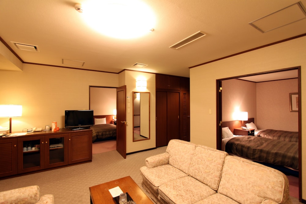 도카치-마쿠베츠 그랜드브리오 호텔 - 루트-인 호텔 -(Tokachi-Makubetsu Grandvrio Hotel - ROUTE-INN HOTELS -) Hotel Image 7 - Living Area