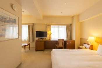 ダブルルーム バリアフリー 禁煙|ホテルマイステイズプレミア札幌パーク