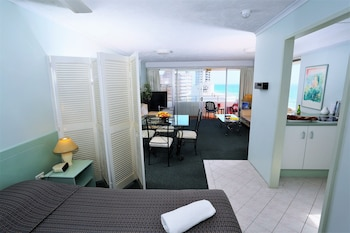 Guestroom at Equinox Resort in Surfers Paradise