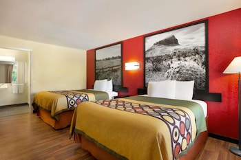 Room, 2 Queen Beds, Accessible, Smoking (Mobility)