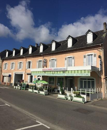 Pontacq - Hôtel du Commerce - z Warszawy, 22 kwietnia 2021, 3 noce