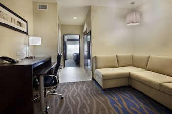 Suite, 1 Bedroom, Accessible, Jetted Tub (1 King, Comm)