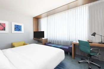 aloft, Room, 1 King Bed, Mountain View