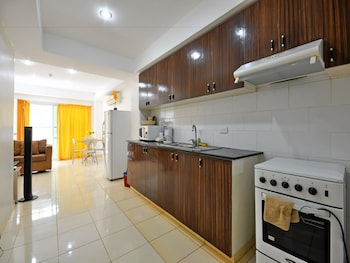 Roxon Apartments Boracay In-Room Kitchenette