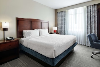 1 King Bed Room, Hearing Impaired Accessible W/ Roll-In Shower