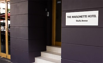 Hotel Entrance at The Maisonette in Potts Point